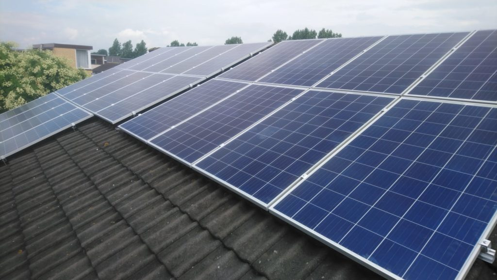 Zonnepanelen systeem hollands kroon